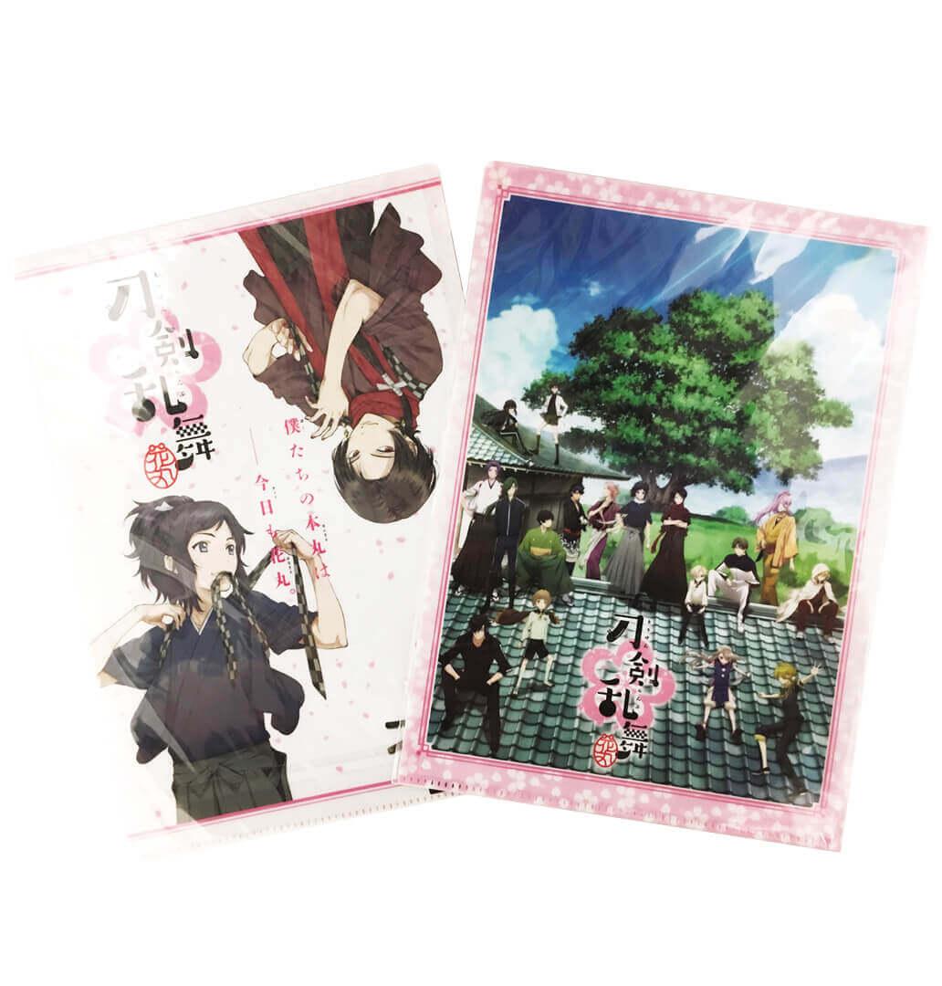 Touken Ranbu Hanamaru – A4 Clear Files Set A_1