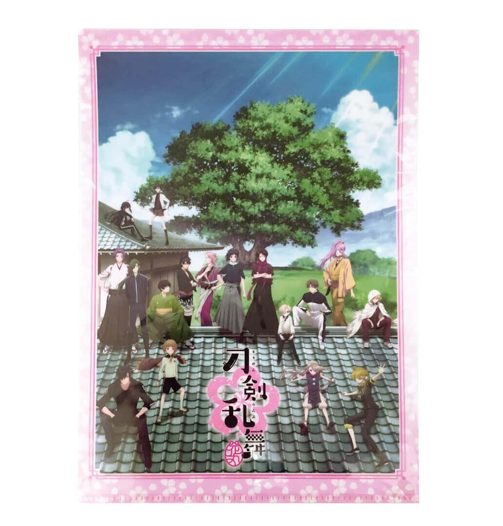 Touken Ranbu Hanamaru – A4 Clear Files Set A_2