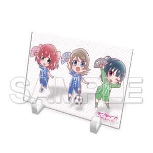 LLSS_Acrylic Stand_Plate_You, Yoshiko, Ruby