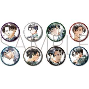 Attack on Titan Art-Pic Character Badge Collection – Levi