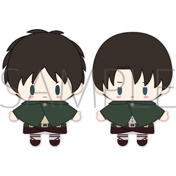 Attack on Titan Eren & Levi PUPELLA Finger Mascot