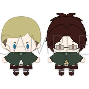 Attack on Titan Erwin & Hange PUPELLA Finger Mascot