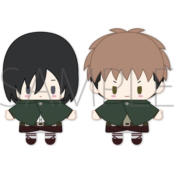 Attack on Titan Mikasa & Jean PUPELLA Finger Mascot