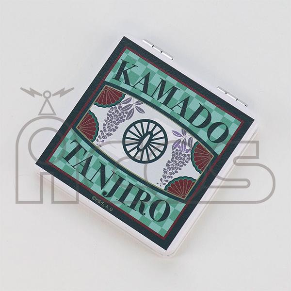 Kimetsu no Yaiba Kamado Tanjiro Leather Folding Mirror