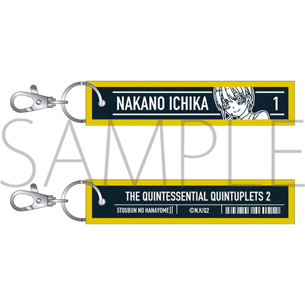 The Quintessential Quintuplets Ichika Denim Keyholder