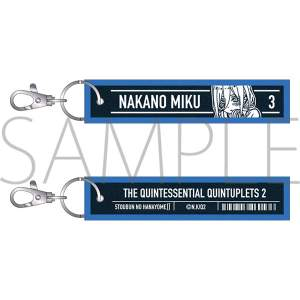 The Quintessential Quintuplets Miku Denim Keyholder