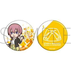 The Quintessential Quintuplets S2 Can Badge Ichika
