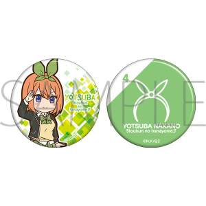 The Quintessential Quintuplets S2 Can Badge Yotsuba
