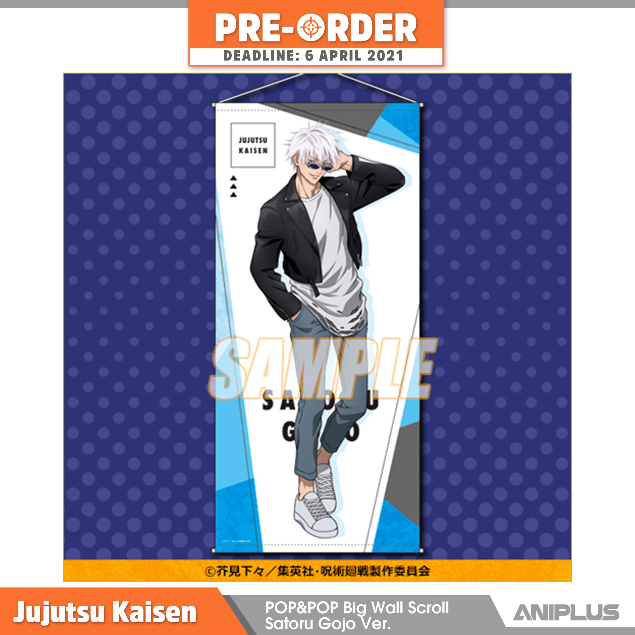 Jujutsu Kaisen POP&POP Big Wall Scroll Satoru Gojo Ver..png