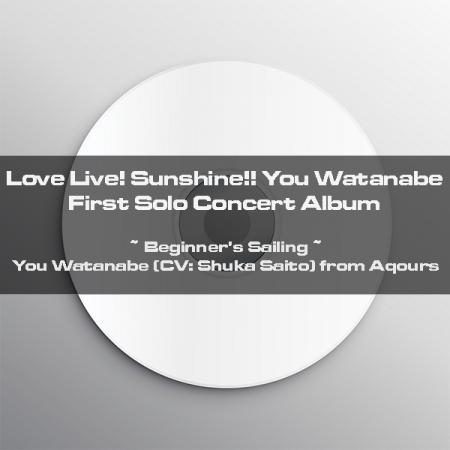 LLSS_CD_You Watanabe First Solo Concert Album